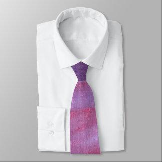 Adaptable Fashion | Pink Purple Fun Zebra Abstract Tie
