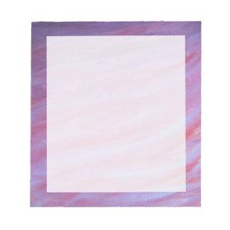 Adaptable Office | Pink Purple Fun Zebra Abstract Notepad