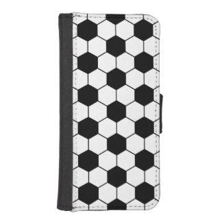 Adapted Soccer Ball pattern Black White