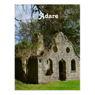 Adare Ruins Postcard