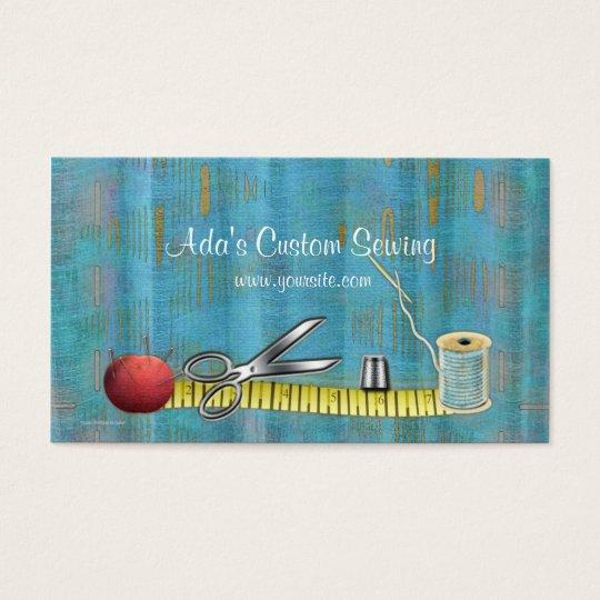 Ada's Custom Sewing Business Card