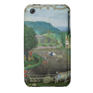Add 18855 October: ploughing and sowing, from a Bo iPhone 3 Case-Mate Case