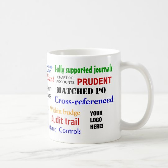 Add A logo Accountant Stress Reliever Coffee Mug