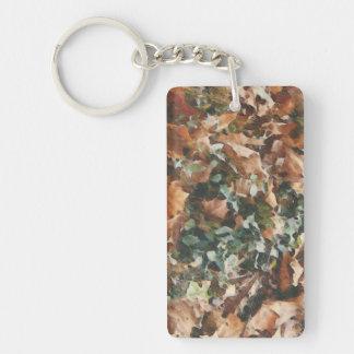 add a message camo acrylic Keychain