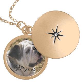 add a photo pet necklace
