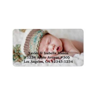 Add A Photo | Return Address Label