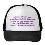 ADD ADHD Funny Quote - Purple