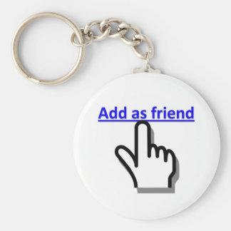 Add as friend key chains