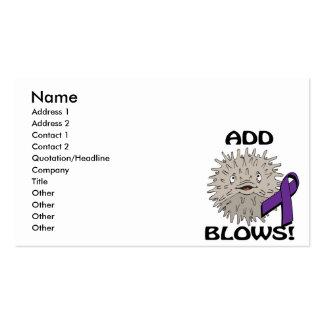 ADD Blows Awareness Design Business Card Templates