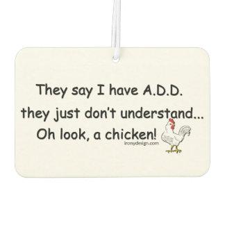 ADD Chicken Humor