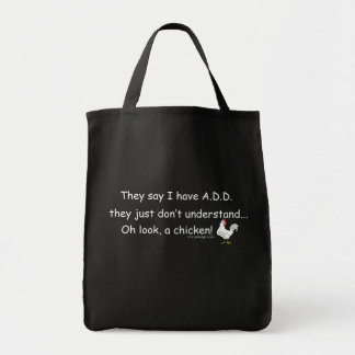 ADD Chicken Humor Canvas Bag