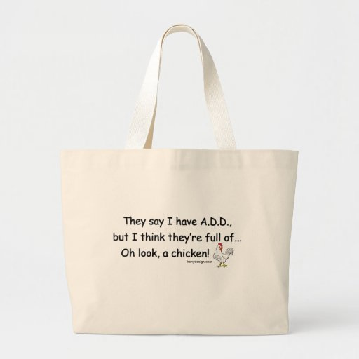 ADD Full of Chickens Tote Bags