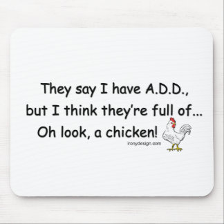 ADD Full of Chickens Mouse Pad