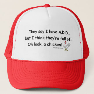 ADD Full of Chickens Trucker Hat