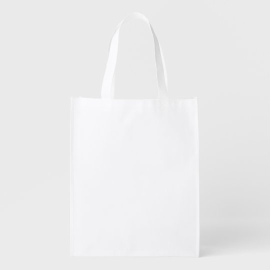 Add Image Templates Reusable Grocery Bag