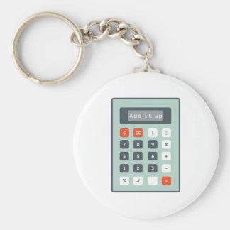 Add It Up Keychain