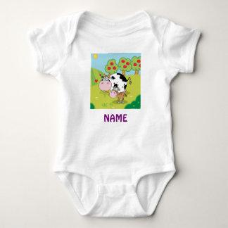 Add Name BABY FARM ANIMALS personalized Tshirt