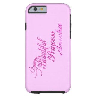 Add Name Beatiful Princess iPhone 6 case Tough iPhone 6 Case
