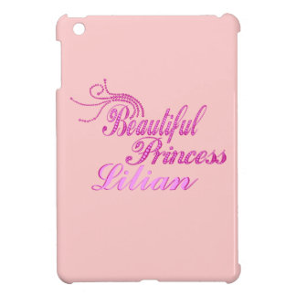 Add Name Beautiful Pricess Ipad Case