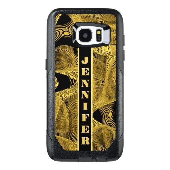 Add Name Liquid Gold OtterBox Samsung Galaxy S7