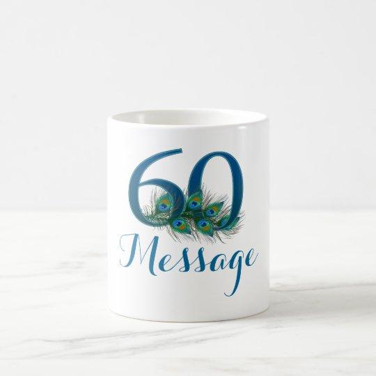 Add name personalised 60th Birthday mug