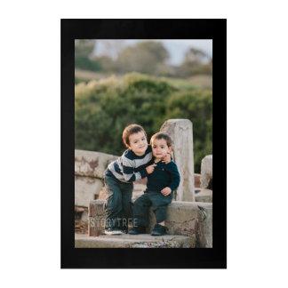 Add Photo and Text - Acrylic Wall Art