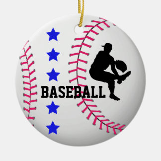 Add Photo Baseball Team Ornament