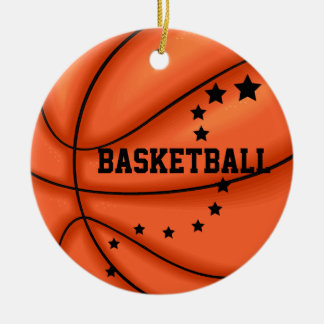 Add Photo Basketball Star Ornament