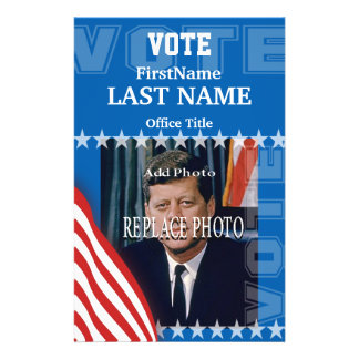 Add Photo | Campaign Template Flyer