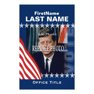 Add Photo | Custom Campaign Template 14 Cm X 21.5 Cm Flyer