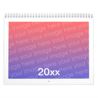 Add Photo Custom Printed Calendars Any Year