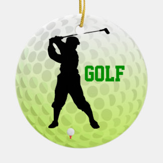Add Photo Golf Tee Off Ornament