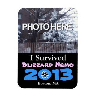 Add Photo I Survived Blizzard Nemo 2013 Magnet 2