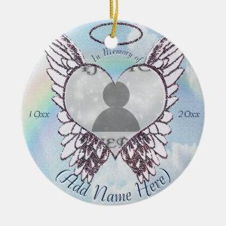 Add Photo | Memorial Ornament