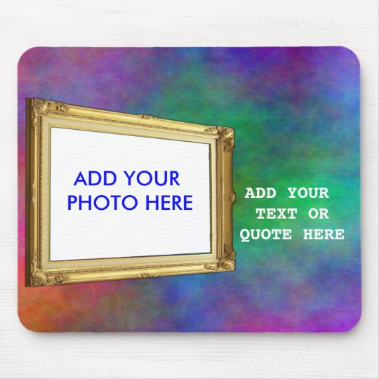 ADD PHOTO OR TEXT IN FRAME-MOUSEPAD MOUSE MAT