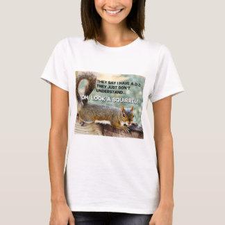 ADD Squirrel Photo T-Shirt