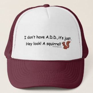 ADD Squirrel Trucker Hat