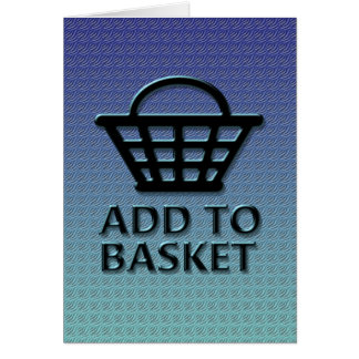 Add to basket concept. card