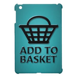Add to basket concept. iPad mini cover