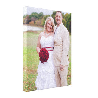 Add Wedding photo or other 's Wrapped Canvas