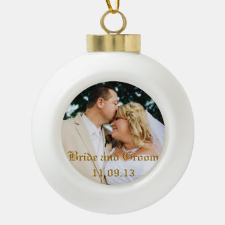 Add Wedding photo or others Christmas Ornament