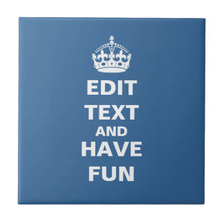 Add you own text here! tile