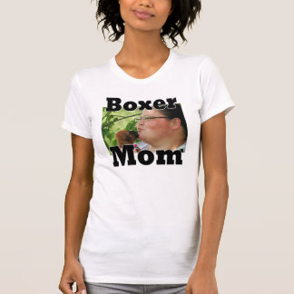 ADD YOU PHOTOBoxer MOM T-Shirt