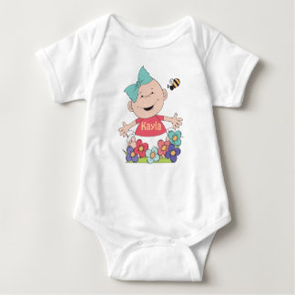 Add Your Baby's#2 Name  Infant Creeper