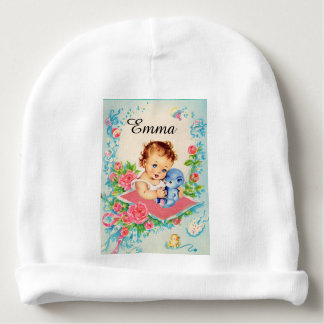 Add your baby's name to this Adorable Baby Cap Baby Beanie