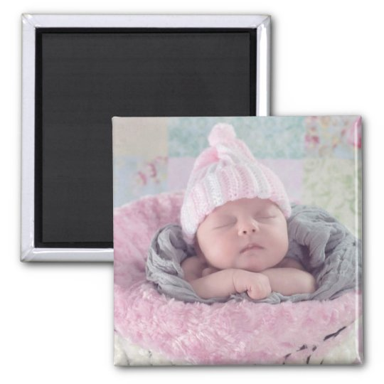 Add your Baby's Photo to this Magnet