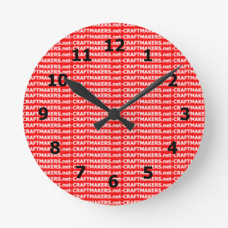 Add Your Business Logo Wall Clock