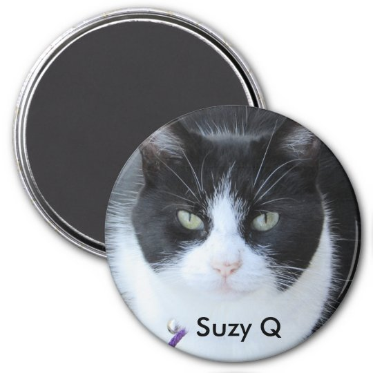Add your Cat's Photo to this Refrigerator Magnet