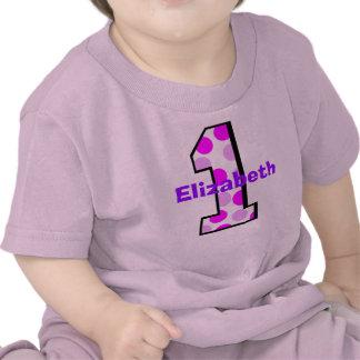 Add Your Child s Name 1st Birthday Shirt