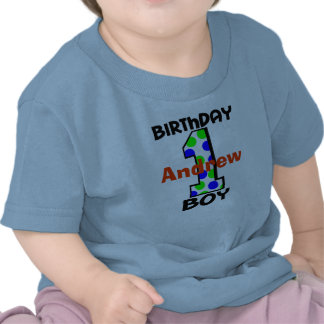 Add Your Child s Name Birthday Boy Shirt